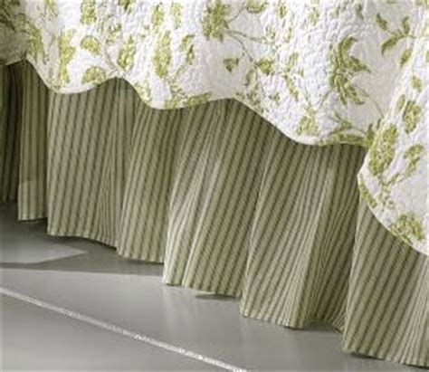 dust ruffle brighton and toile bedding on