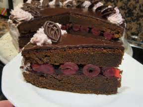 backen schoko kirsch torte rezept mit bild kochbarde