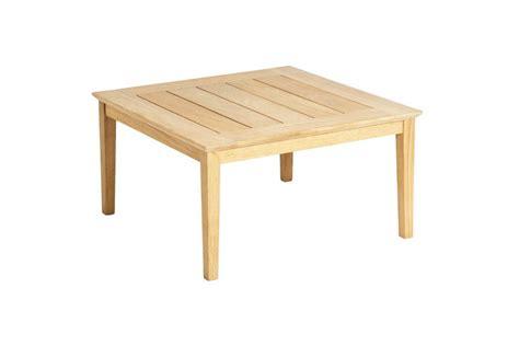 table basse carr 233 e en bois pour salon de jardin haut de gamme la galerie du teck