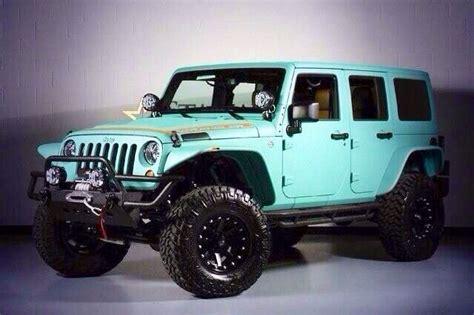 blue green jeep aqua blue jeep wrangler cars pinterest blue jeep