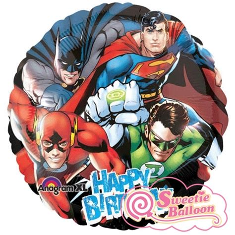 Character  Justice League Happy Birthday