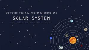 10 Facts About The Solar System - YouTube