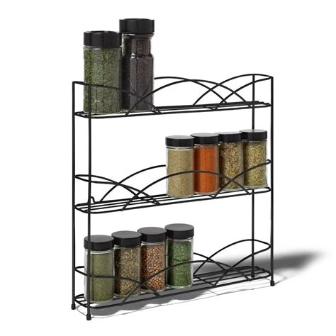 Spice Rack Stand by Spice Rack Holder Bottle Tier Storage Stand Counter