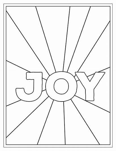 Coloring Printable Joy Inside Sheets Paper Choose