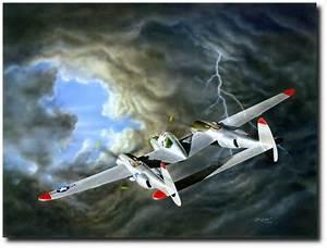 Lightning By Don Feight - Lockheed P-38 Lightning