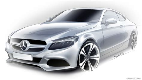 Mercedes C Class Coupe Hd Picture by 2017 Mercedes C Class Coupe Design Sketch Hd