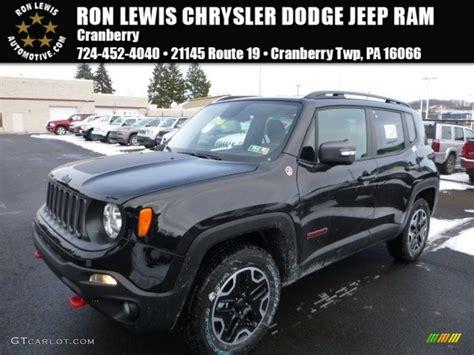 renegade jeep black 2016 black jeep renegade trailhawk 4x4 110115554