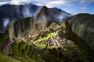 Machu, Picchu, Mountains, Landscape, Peru, South, America