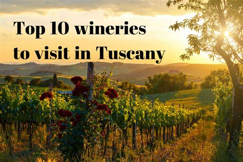 best wineries in chianti top 10 things to do in tuscany winerist