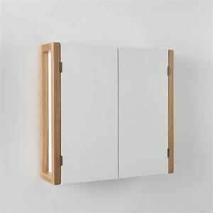 Meuble Haut Toilette : meuble haut de salle de bain compo 2 portes blanc la ~ Dallasstarsshop.com Idées de Décoration