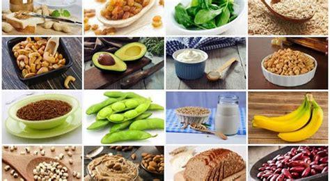 Alimente bogate în calciu şi magneziu