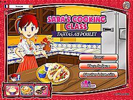 jeux de cuisine ecole de gratuit fajitas au poulet école de cuisine de jeux jeu fr