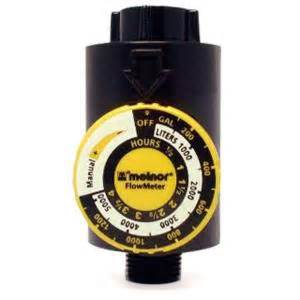 melnor 4 75 in flowmeter water timer 101 the home depot