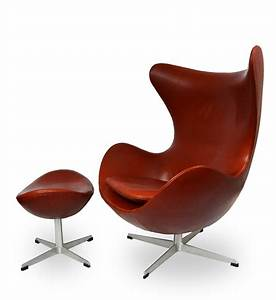 fauteuil quotegg chairquot arne jacobsen annees 70 design With fauteuil jacobsen