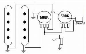 2 humbucker 1 single coil wiring diagrams fender humbucker With single coil 2 pots