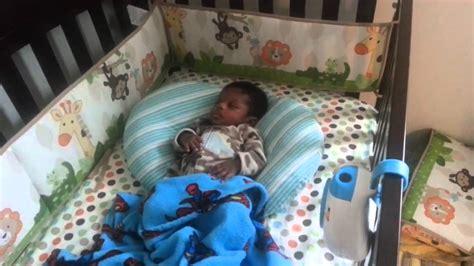 when should baby start sleeping in crib 10 week baby sleep in crib