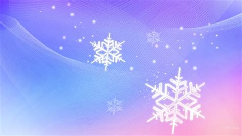 Purple Pastel Snowflake Background by Winter Pink And Blue Other Abstract Background