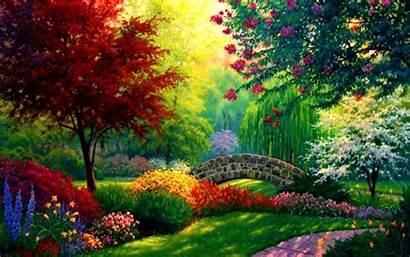 Nature Desktop Wallpapers Backgrounds Informasi Paintings