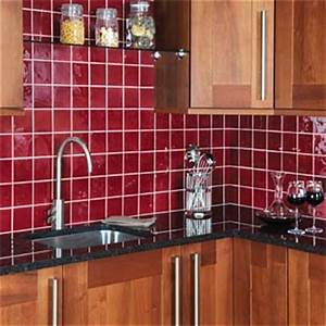 red kitchen tiles With kitchen colors with white cabinets with hard hat stickers custom