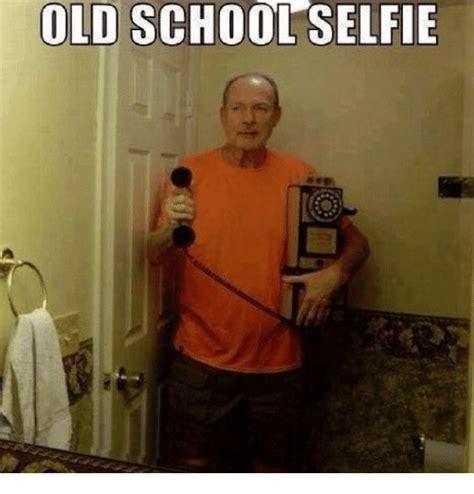 Old Lady College Meme - old school selfie funny meme on me me