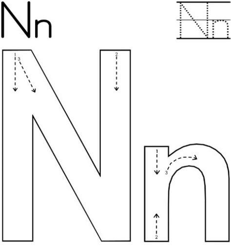 Free Printable Letter N Worksheets For Kindergarten & Preschool