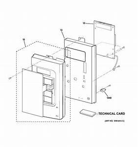 Ge Jnm1541dm5bb Touchpad  Control Panel  Keypad