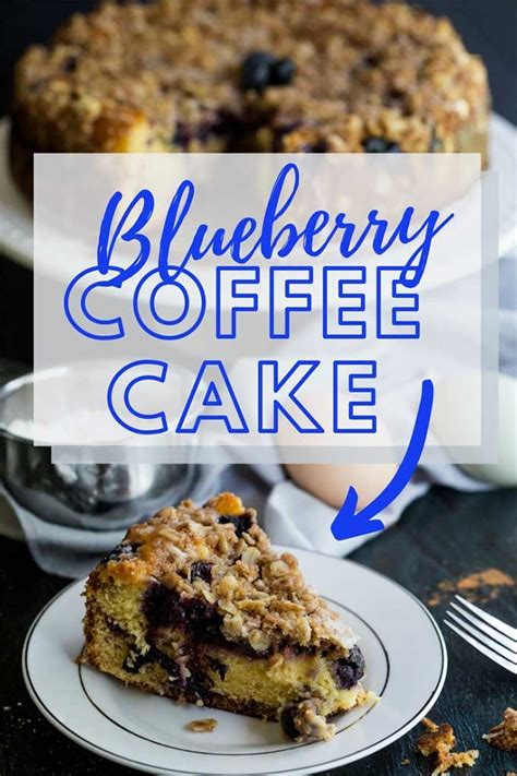 This blueberry coffee cake is the best recipe to doctor up lemon cake mix! Blueberry Sour Cream Coffee Cake   Recipe   Muffin recipes blueberry, Sour cream coffee cake ...