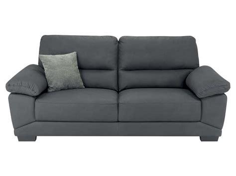 conforama canape fixe 3 places canapé fixe 3 places en tissu milan coloris gris vente