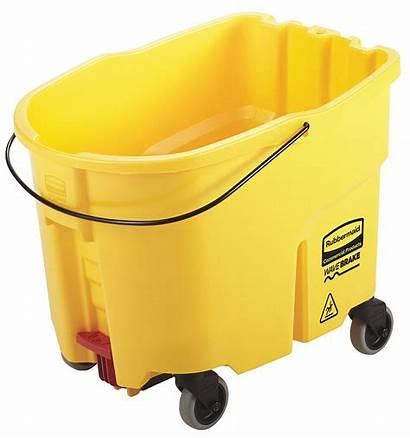 Grainger Rubbermaid Mop Bucket Commercial Yellow Plastic