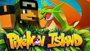 Pixelmon Island - SHINY SALAMENCE! - Episode 2 (Minecraft ...