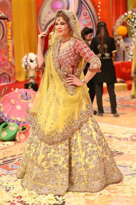 latest pakistani bridal mehndi dresses   brides