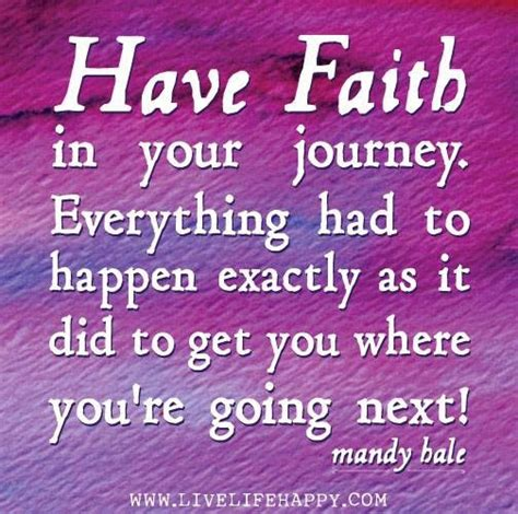faith   journey    happen