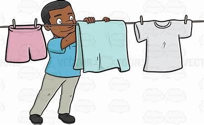 Clipart Hang Laundry Hanging Webstockreview Glass Depression