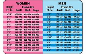 Height, weight & calorie charts