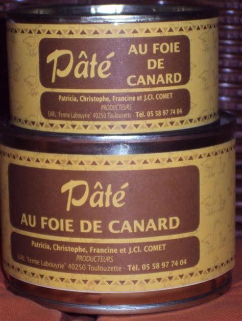 pate de canard au foie gras en conserve p 226 t 233 de canard au foie gras achat direct au producteur