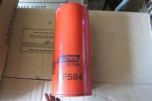 Baldwin Bf584 Fuel Filter Cross Reference Wix 33384