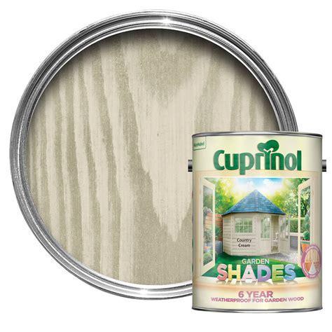Cuprinol Garden Shades Country cream Matt Wood paint 5L