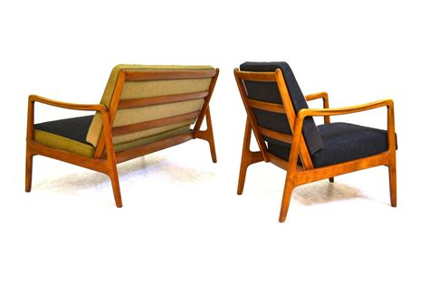 Sofa Set Description by Sofa Set With Easy Chair By Ole Wanscher For