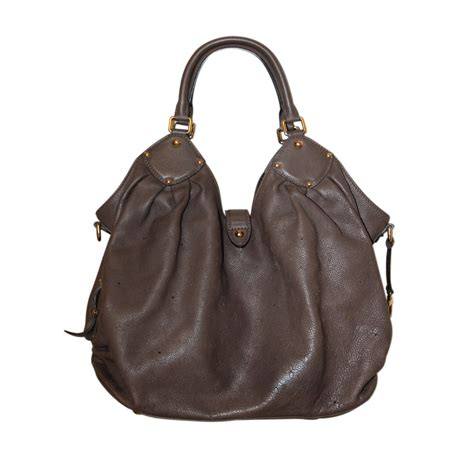 louis vuitton mahina xl shoulder bag purse