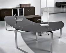 Home Office Furniture Design by Glass Office Desk Design And Stylish