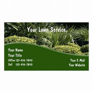 Landscaping business cards zazzle for Business cards landscaping