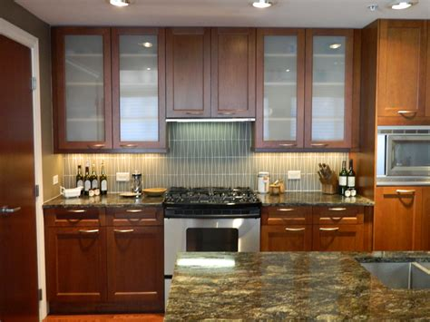 16+ Lovely Kitchen Cabinets Glass Uppers