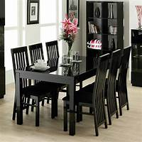 black dining room table Black Dining Room Tables And Chairs   Marceladick.com