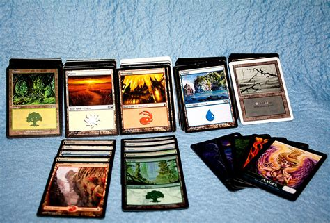 A visual spoiler of all 402 cards from adventures in the forgotten realms in magic: .: 200 Magic: The Gathering Land Cards #Review #GoldenGroundhogMTGLots