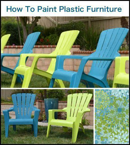 repeindre des chaises en plastique les 25 meilleures idées de la catégorie des chaises en