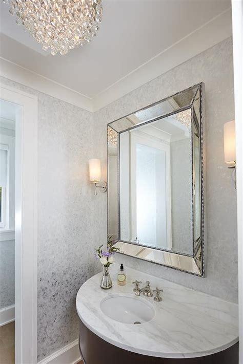 powder room chandelier design ideas