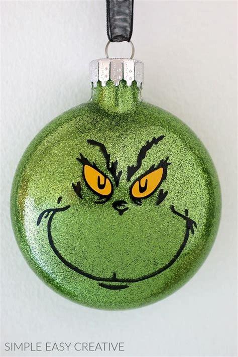grinch ornaments    grinch christmas