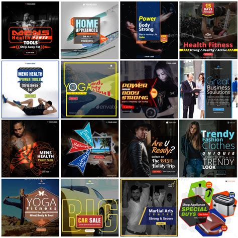 design professional instagram promotion banner ad