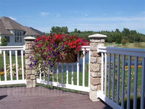 porch column wraps decorative fence ideas brought to creative columns