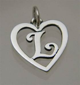 james avery sterling silver 925 heart with initial letter With james avery letter charms